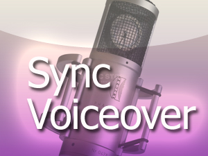 Sync, Voiceover