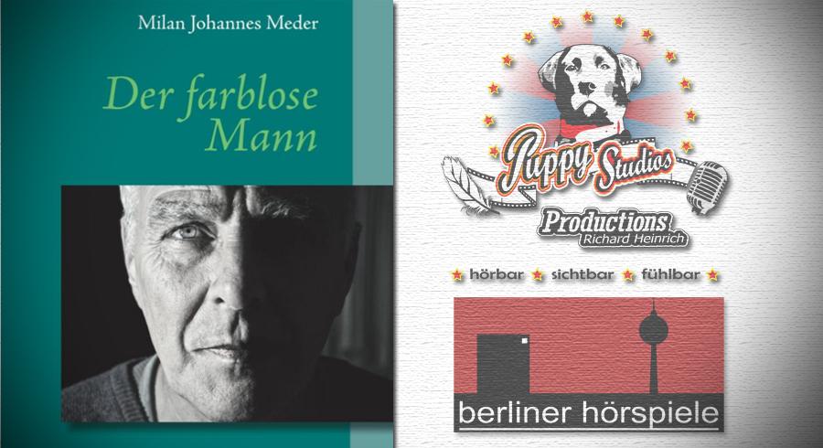 Neues Hörbuch bei Audible | Der farblose Mann – Milan Johannes Meder